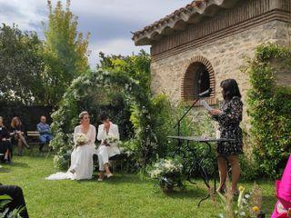 La boda de Leire  y María  2