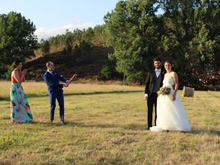 La boda de Lucía y Quintín