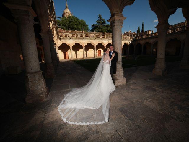 La boda de Iván y Sonsoles en Salamanca, Salamanca 34