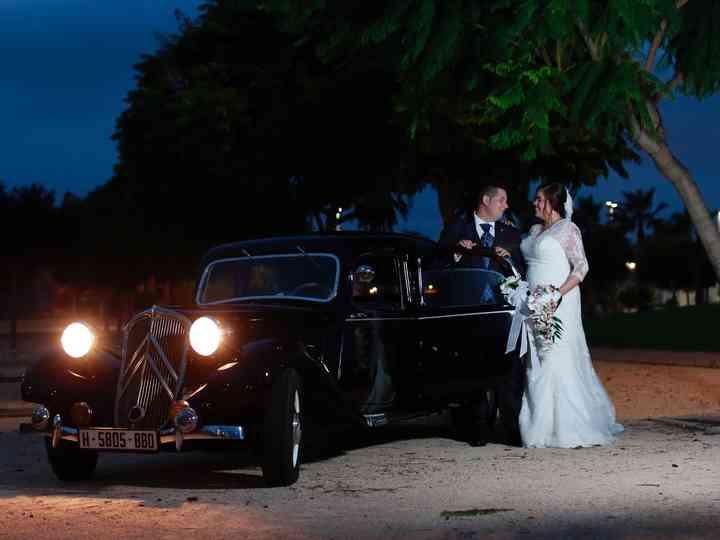 La boda de Raquel y Rubén