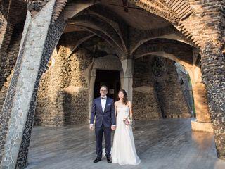 La boda de Cristian y Joan