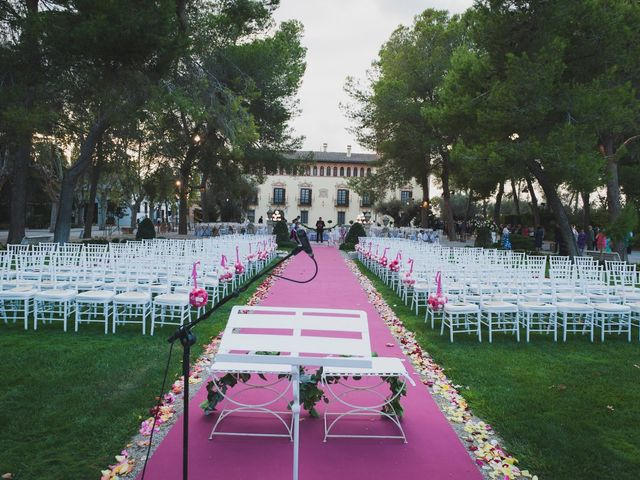 La boda de Ricardo y Ester en Riba-roja De Túria, Valencia 14