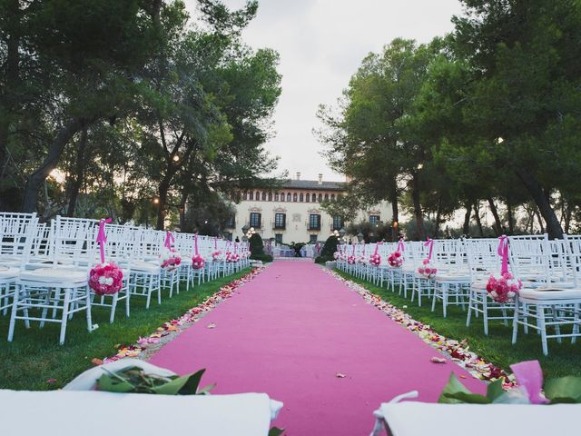 La boda de Ricardo y Ester en Riba-roja De Túria, Valencia 15