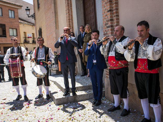 La boda de Juan y María en Segovia, Segovia 50