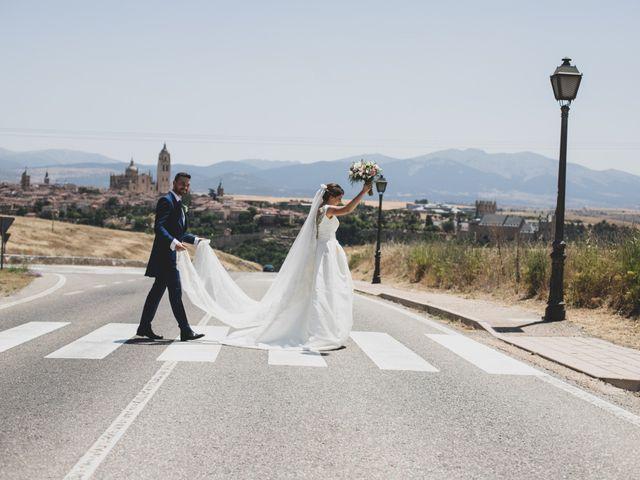 La boda de Juan y María en Segovia, Segovia 52
