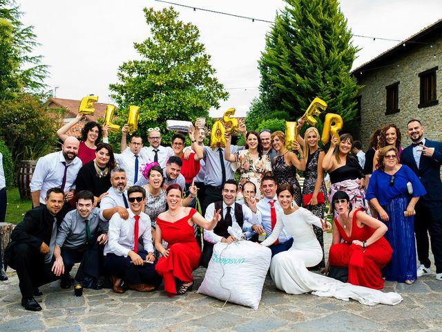 La boda de Eli y Asier en Elorriaga, Álava 55