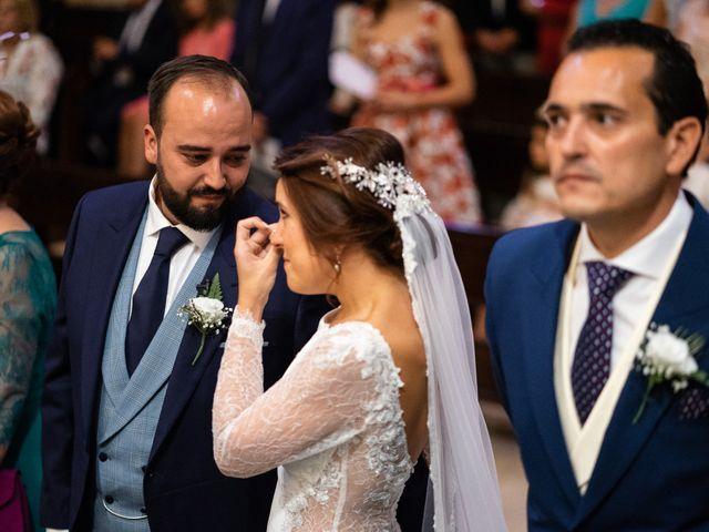 La boda de M. Paqui y Sergio en Torreperogil, Jaén 28