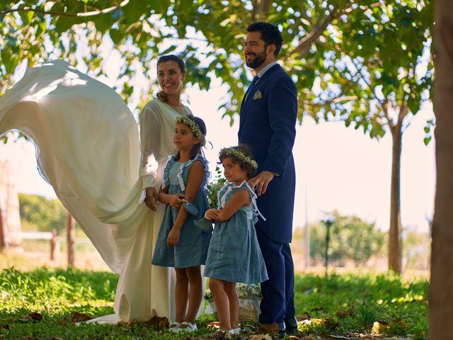 La boda de Juanlu y Silvia en Ribarroja del Turia, Valencia 21
