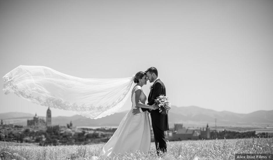 La boda de Juan y María en Segovia, Segovia