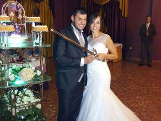La boda de Albina y David