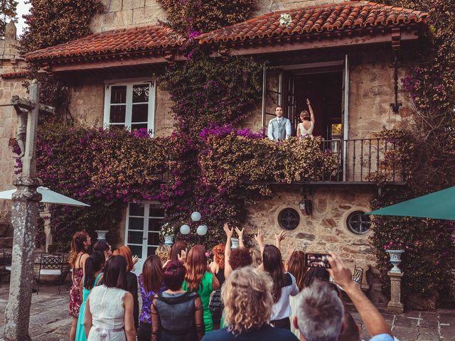 La boda de Carlos y Pollyanny en Vilaboa (Rutis), A Coruña 30