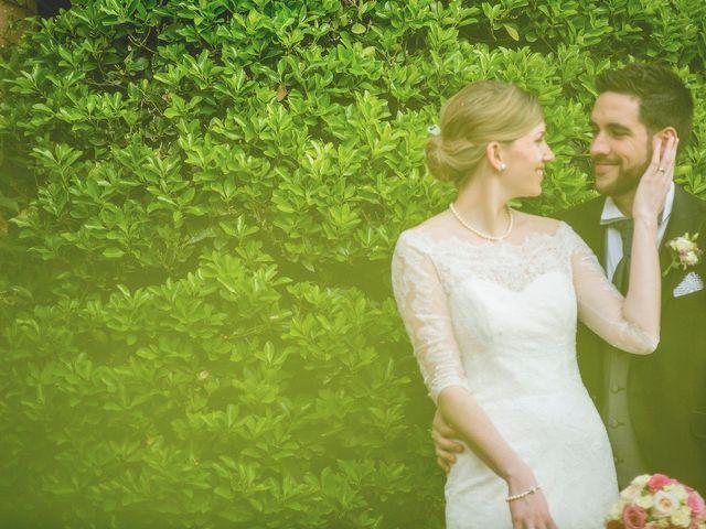 La boda de Caroline y David
