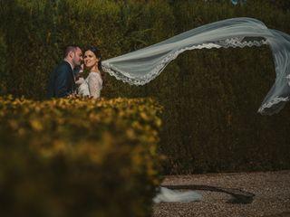 La boda de David y Eva