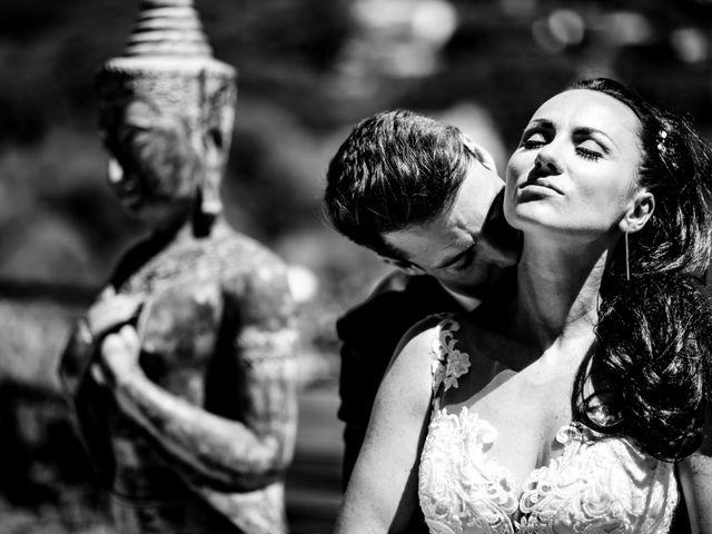 La boda de Kinga y Marc