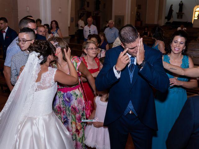 La boda de David y Isabel en Piedrabuena, Ciudad Real 21
