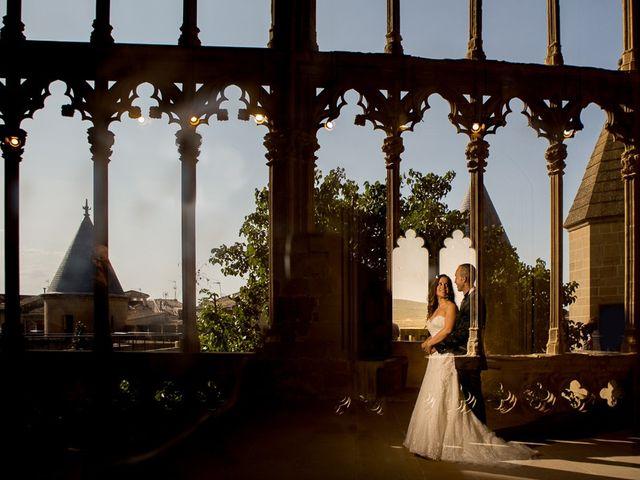 La boda de Vicente y Rebeca en San Juan Mozarrifar, Zaragoza 1
