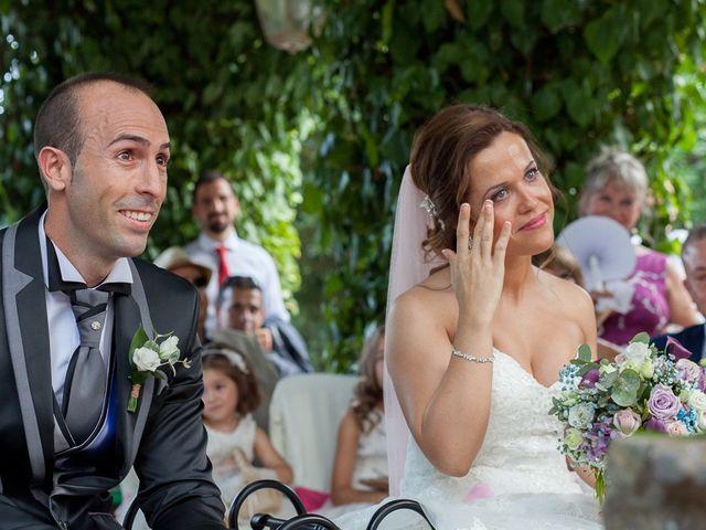 La boda de Vicente y Rebeca en San Juan Mozarrifar, Zaragoza 12