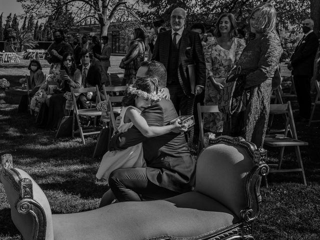 La boda de Eva y David en El Burgo De Ebro, Zaragoza 27