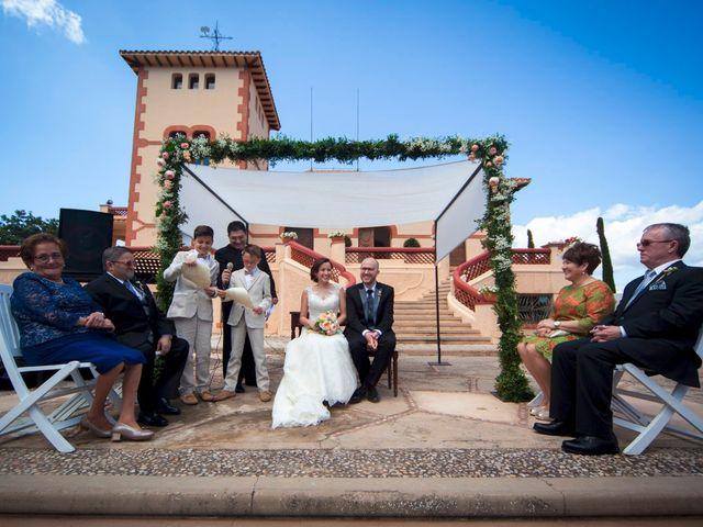 La boda de Guillermo y Sara en Castelló/castellón De La Plana, Castellón 14