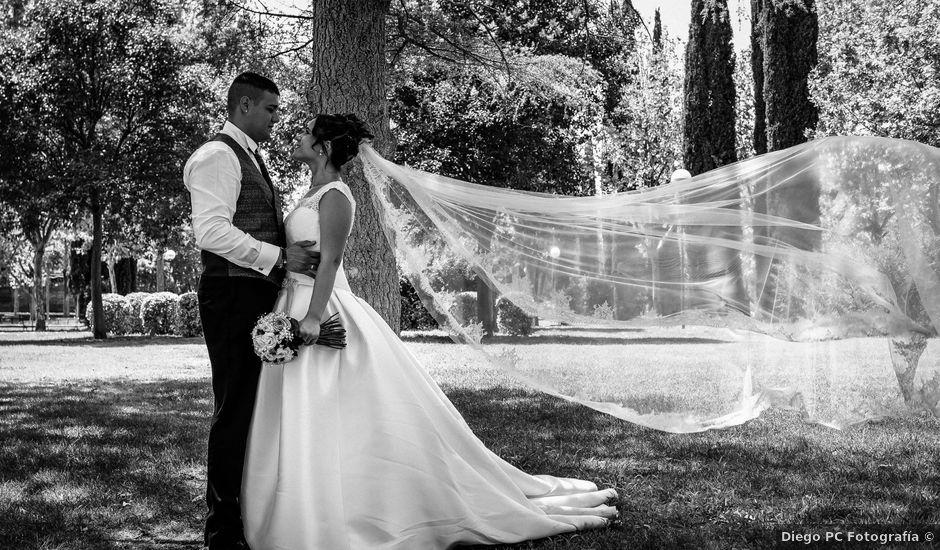 La boda de David y Isabel en Piedrabuena, Ciudad Real