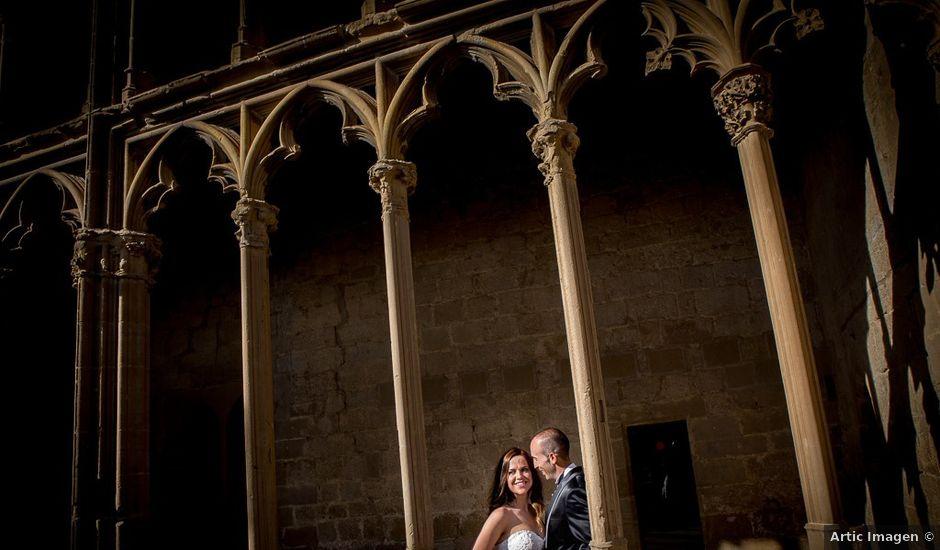 La boda de Vicente y Rebeca en San Juan Mozarrifar, Zaragoza
