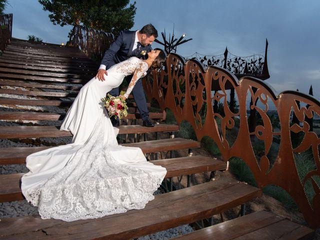 La boda de Jesús y María de los Ángeles en Jun, Granada 30