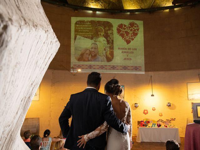 La boda de Jesús y María de los Ángeles en Jun, Granada 38