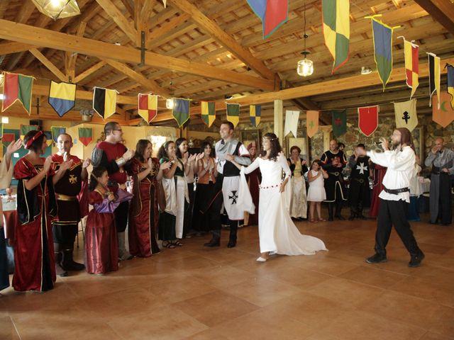 La boda de Javi y Almudena en Ayllon, Segovia 28