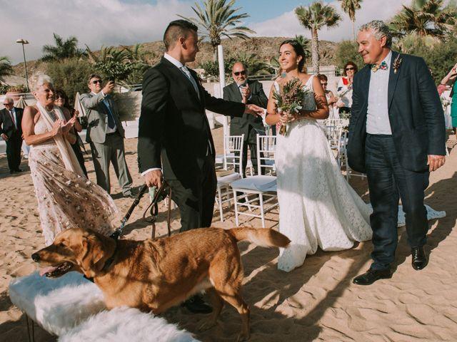 La boda de Óscar y Lidia en Arona, Santa Cruz de Tenerife 30