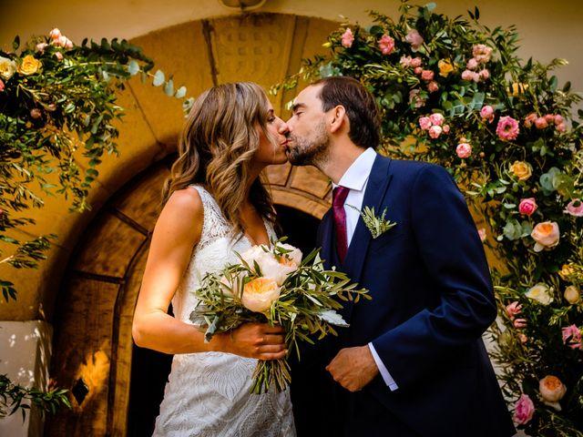 La boda de David y Leslie