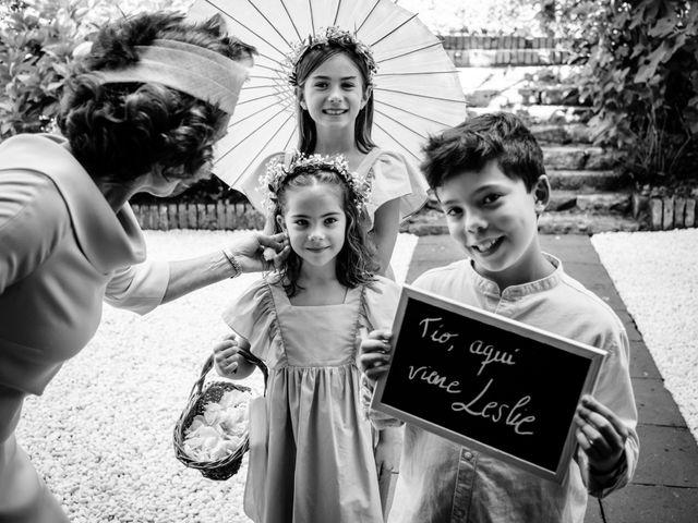 La boda de Leslie y David en Oiartzun, Guipúzcoa 41