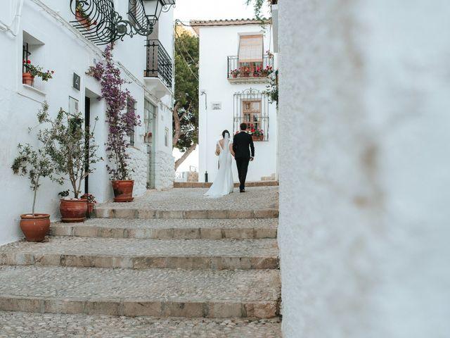 La boda de Rob y Siobhán en Altea, Alicante 118