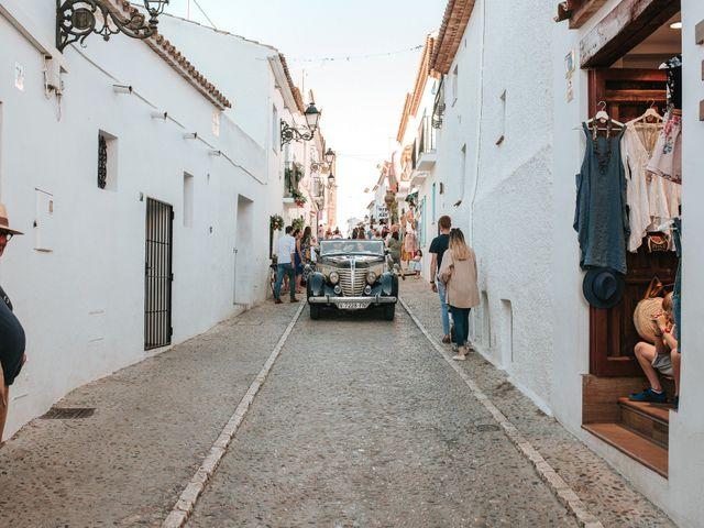 La boda de Rob y Siobhán en Altea, Alicante 123