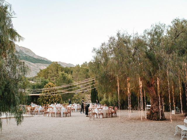 La boda de Rob y Siobhán en Altea, Alicante 134