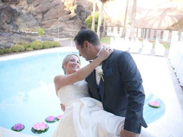 La boda de Angel y Daura en Las Palmas De Gran Canaria, Las Palmas 9