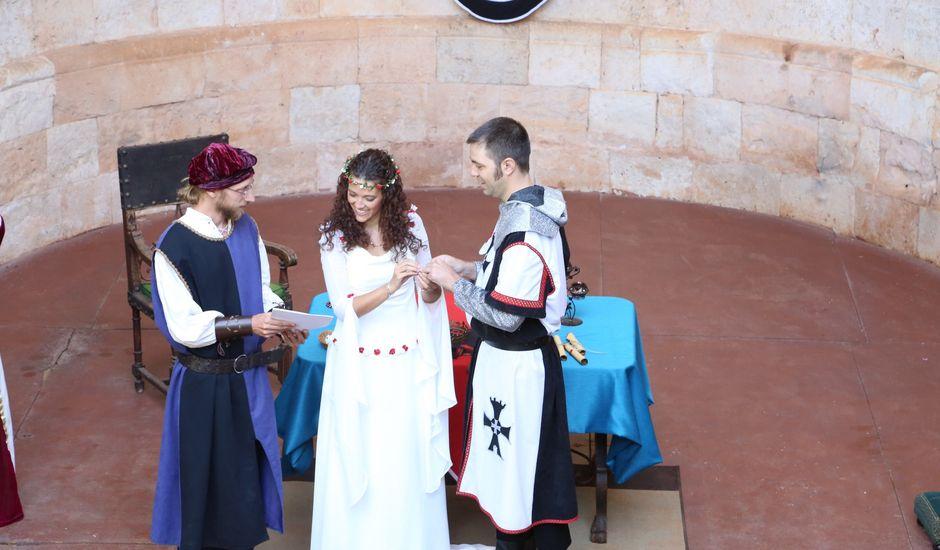 La boda de Javi y Almudena en Ayllon, Segovia