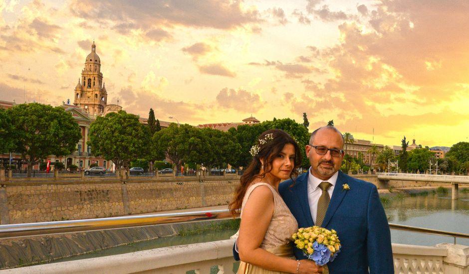 La boda de Ángel y Nancy en Murcia, Murcia