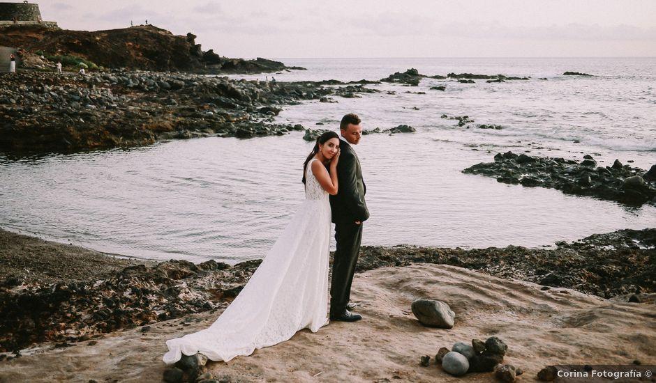 La boda de Óscar y Lidia en Arona, Santa Cruz de Tenerife