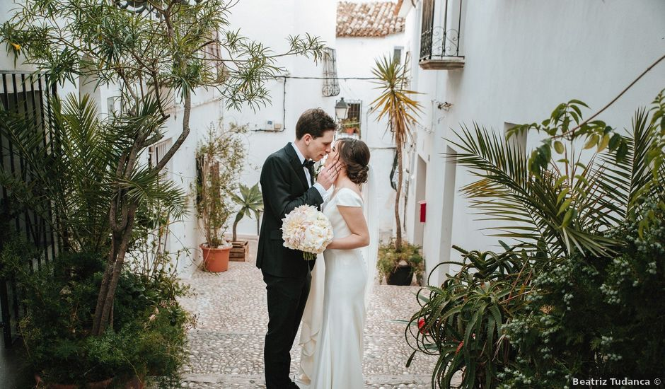 La boda de Rob y Siobhán en Altea, Alicante