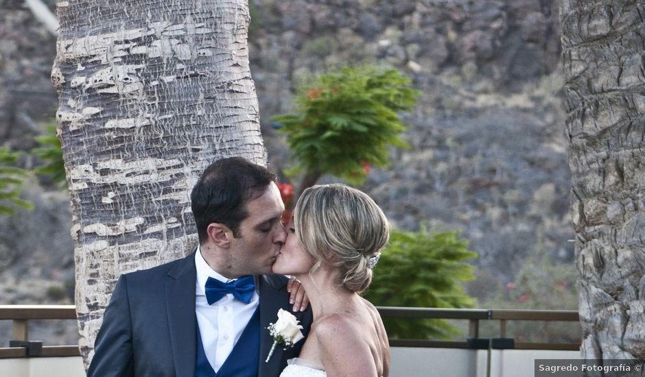 La boda de Angel y Daura en Las Palmas De Gran Canaria, Las Palmas