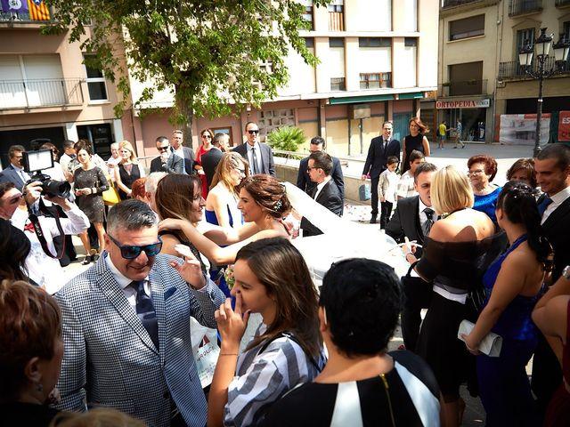 La boda de Toni y Nuri en Santa Coloma De Farners, Girona 61