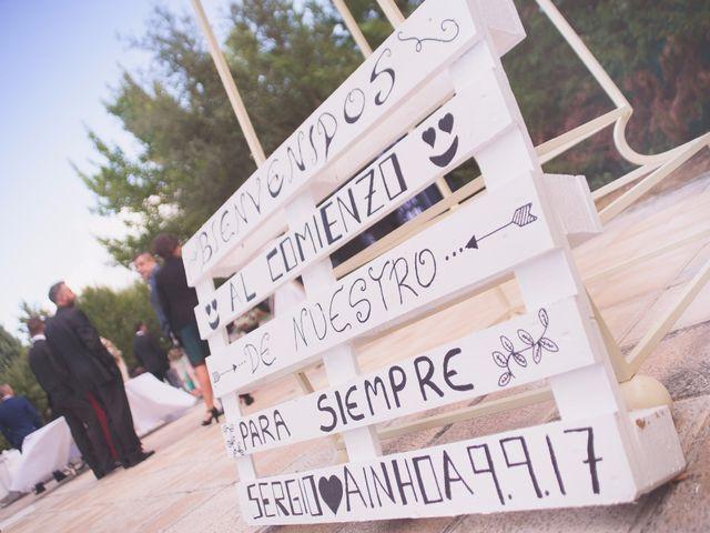 La boda de Sergio y Ainhoa en Carracedelo, León 12