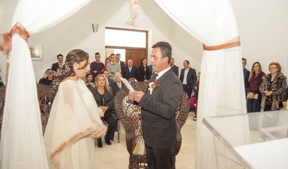 La boda de Pepe  y Nandy en La Albuera, Badajoz
