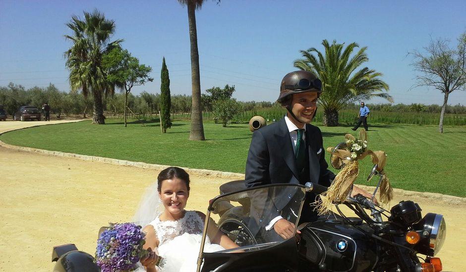 La boda de Fabián y Elena en Dos Hermanas, Sevilla