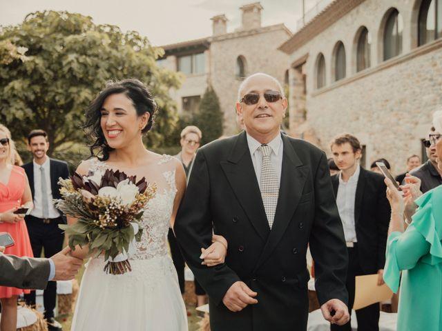 La boda de Antoine y Cristina en Fares, Girona 19