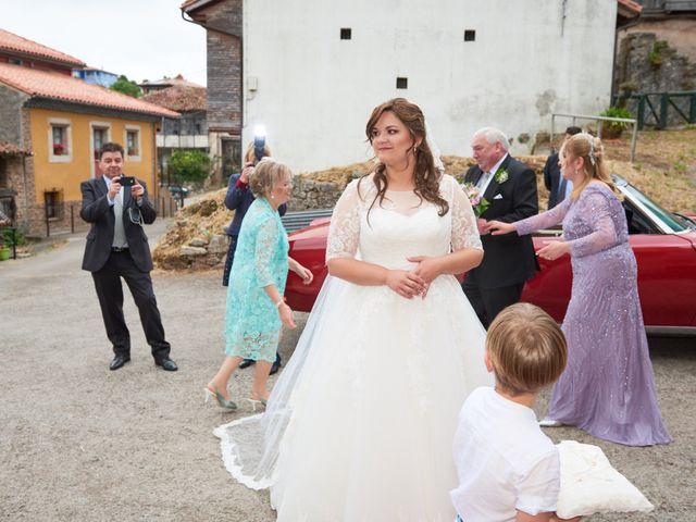 La boda de Alejandro y Lucía en Luces, Asturias 22