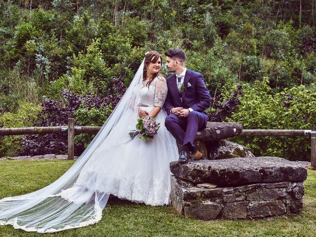 La boda de Alejandro y Lucía en Luces, Asturias 1