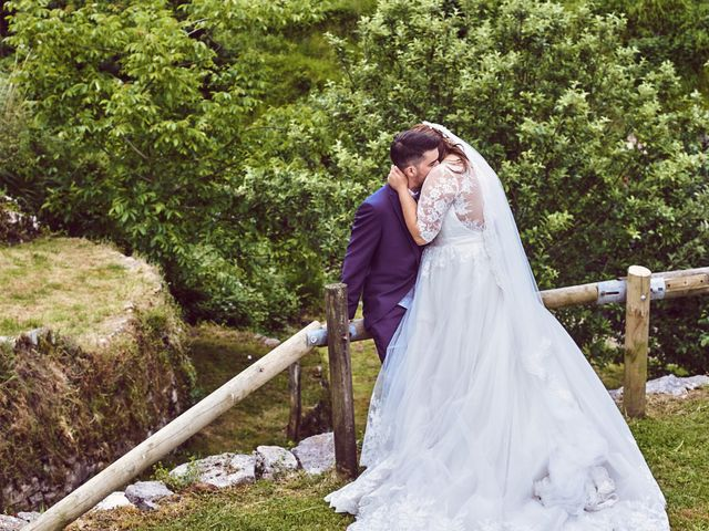 La boda de Alejandro y Lucía en Luces, Asturias 49