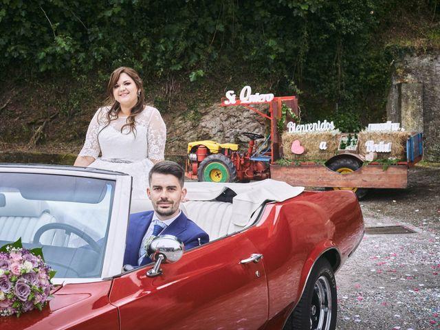 La boda de Alejandro y Lucía en Luces, Asturias 50