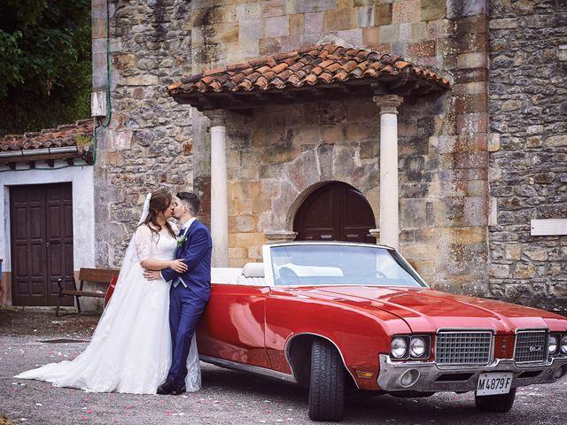 La boda de Alejandro y Lucía en Luces, Asturias 51